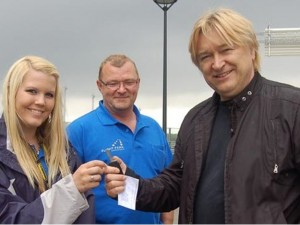 Intervju med Jørn Hoel om parkering hos Flight Park